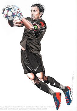 Buffon is an Italian Goalkeeper and considered as one of the best goalkeepers of all time. With 679 appearences of which 509 were for Juventus he has won 24 trophies including all the domestic and european competitions. Buffon has played 176 times for Italy where he achieved winning the Fifa World Cup. He holds the Serie A record number of clean sheets and the longest streak of not conceding a goal 974 consequative minutes during the 2015/16 season.
