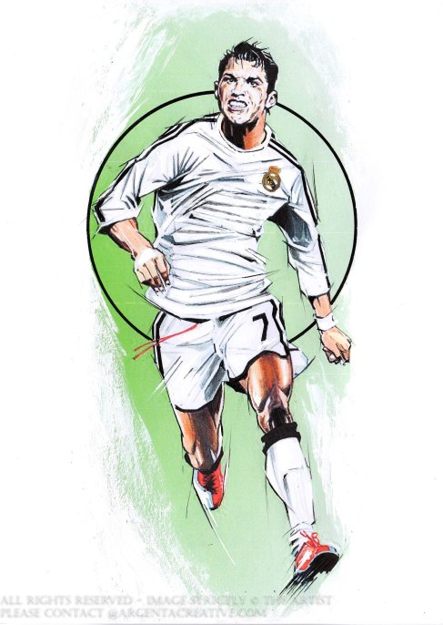 Considered the best player in the world and regarded by many as the greatest footballer of all time. Cristiano Ronaldo, born in Maderia started his career in Portugal playing for Sporting CP before transferring to Manchester United in the Premier League in 2003. He won an FA cup, three Premier League Titles and a UEFA Champions League Title before transferring fo £80m to Real Madrid in the Spanish LA Liga. He won 15 Trophies with Real and become the clubs all time top goal scorer. Ronaldo became the first player to win 5 Uefa Champions League Titles . Ronaldo transferred to Serie A giants Juventus for €100m an Italian record and also a record for a player over 30 years old. Ronaldo has also played 154 times for Portugal scoring 85 goals,and captained the side to winning Euro 2016 and is now the highest International goal scorer of all time.Ronaldo has 5 Balon d'Or and 4 Golden Shoe's